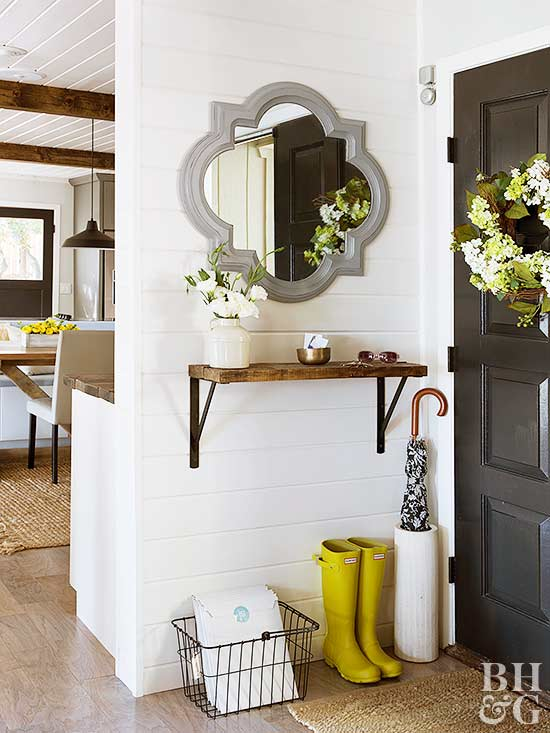 Foyer Door Key : No entryway problem here s how to fake it