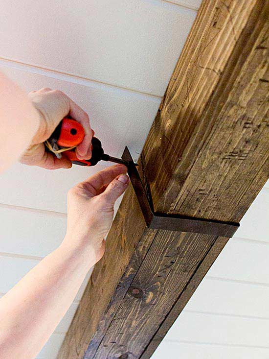 How To Make Rustic Wood Beams