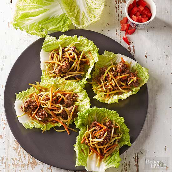 Low cholesterol recipes healthy lettuce wrap recipes forumfinder Images