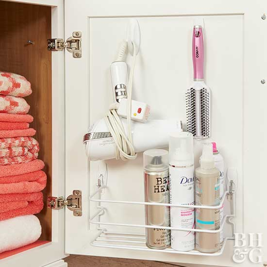 Storage Ideas For Hair Accessories Tools And Products
