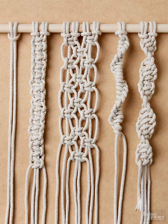 how to do macrame how to tie macrame knots 1370