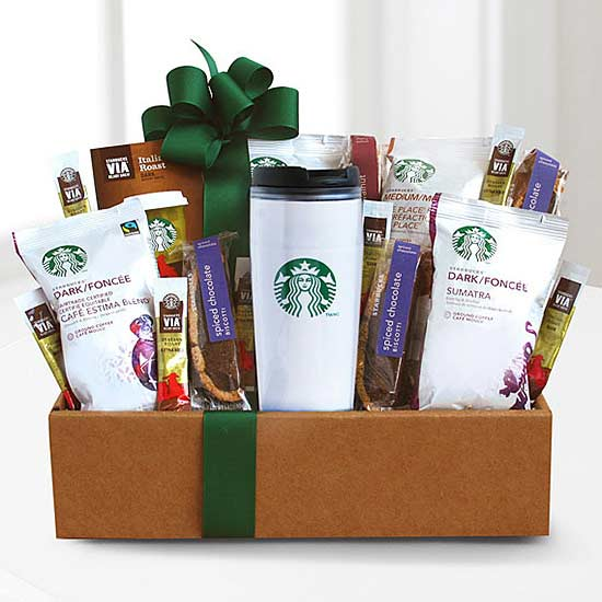 Easter baskets even adults will love a basket for the coffee lover negle Choice Image