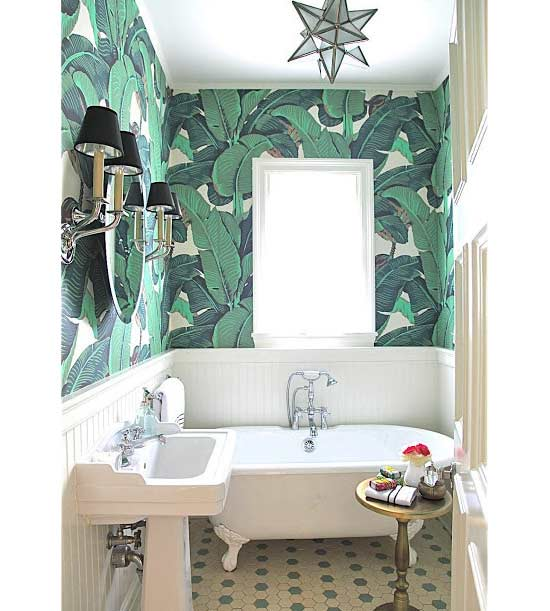 Crushing On: Banana Leaf Print