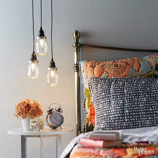 Make a Pendant Trio from Canning Jars