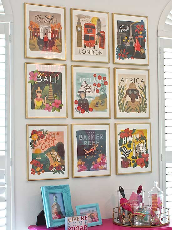 Decorate with old calendars get creative with your old calendars with easy upcycle projects like turning calendar images into a gallery wall the possibilities are endless for laying solutioingenieria Gallery