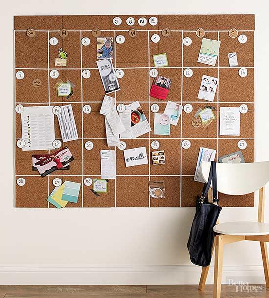 Creative Monthly Calendar Ideas : Diy calendar ideas