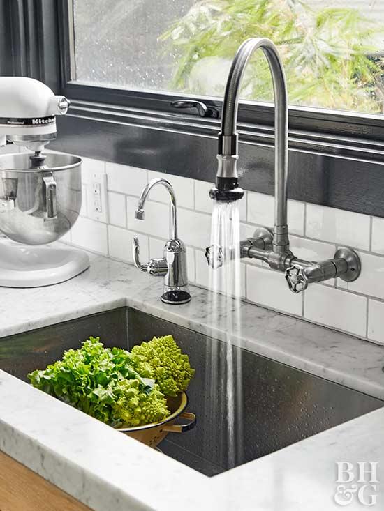 Kitchen Sink, Faucet, Kitchen Nice Look
