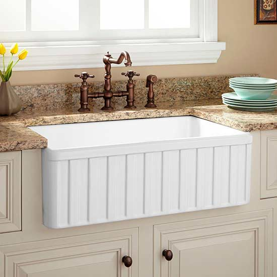 Fall in Love with These Farmhouse Kitchen Sinks! (We Did)