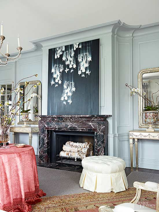 Fabulous Marble Fireplace Design Ideas