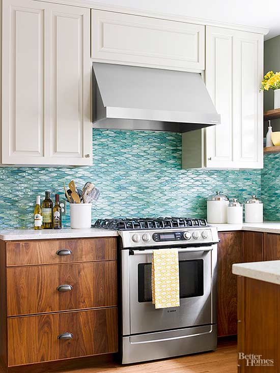 Images Of White Upper Kitchen Cabinets Woth Wood Lower