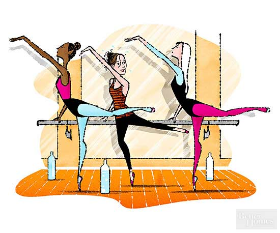 Our Health Nut Tries a Barre Class