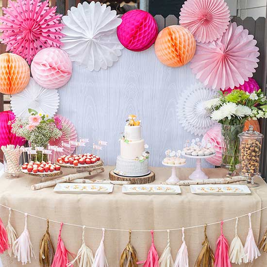 Display Baby Shower: Dessert Displays That Make The Party