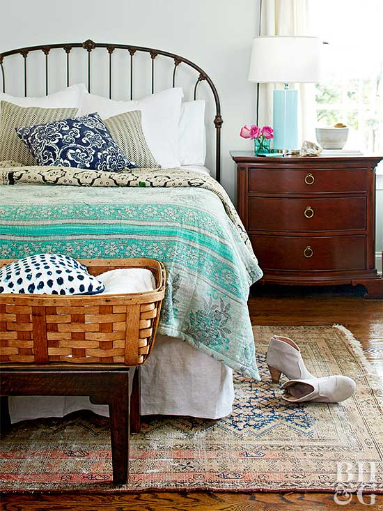 Sometimes The Thing That Ties An Entire Room Together Is Just Under Your  Feet. A Vintage Rug Is An Easy Way To Bring Your Bedroom Decor To The Next  Level.