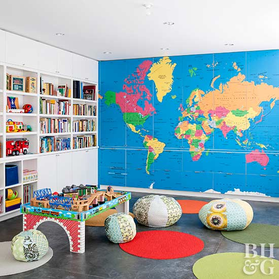 Fun Kids Rooms: Fun Playroom Ideas Kids Will Love