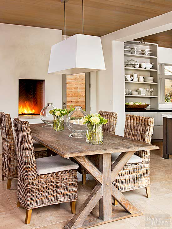 modern rustic decor