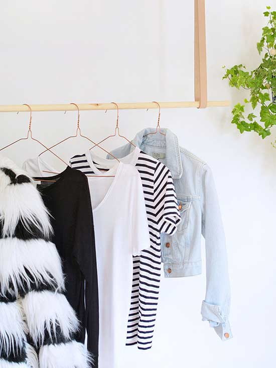Stylish Clothing Racks for When Your Closet Just Doesn't Cut It