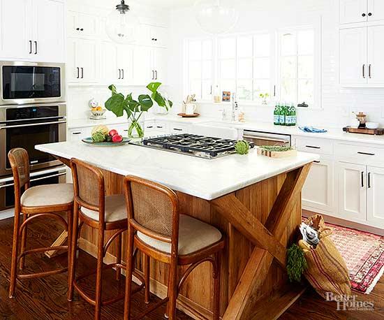 & White Kitchen Countertops | Better Homes u0026 Gardens