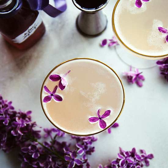 8 Floral Cocktails That Are Practically Too Pretty to Drink