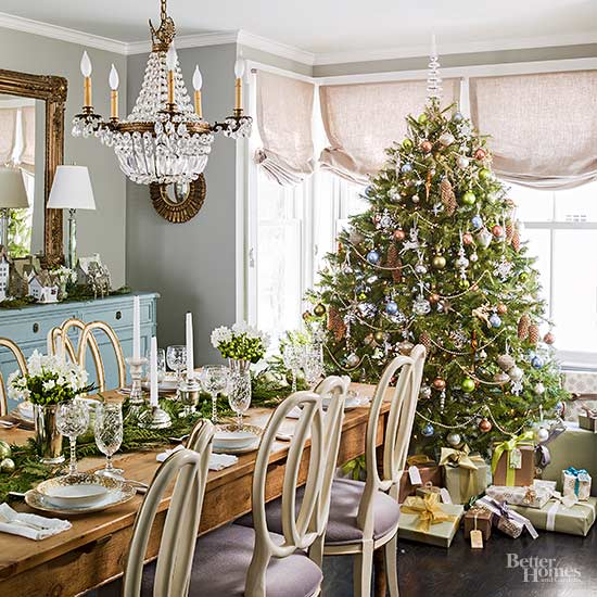 Christmas Decorations For Dining Room Table: Tips For Prettier Christmas Trees