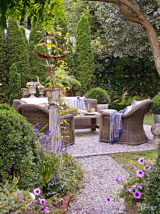 Create Your Own Courtyard