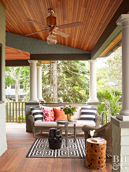 How to remove stains on decks porches for Porches login