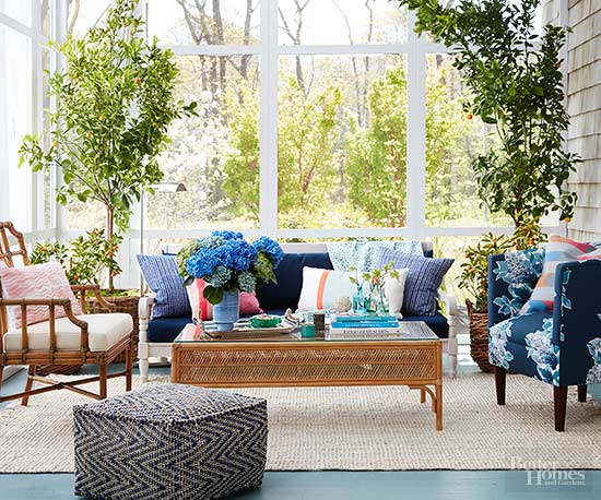 Bring the Indoors Out: Boho-Vintage Porch Decor