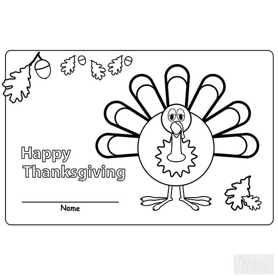 Thanksgiving Place Mats
