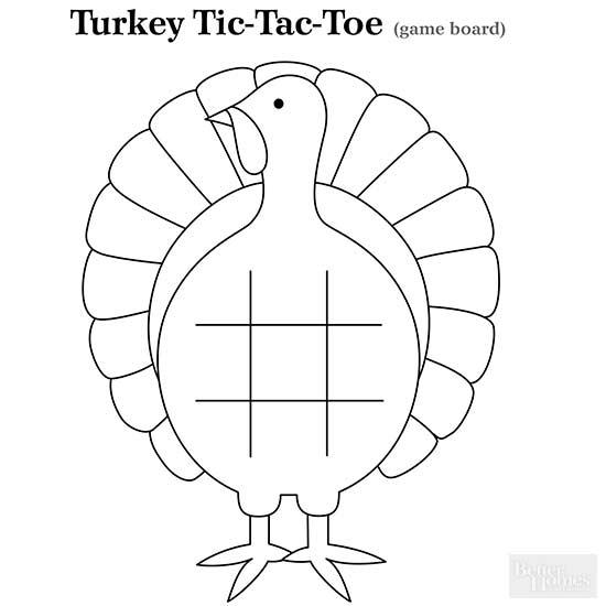 Turkey Tic-Tac-Toe