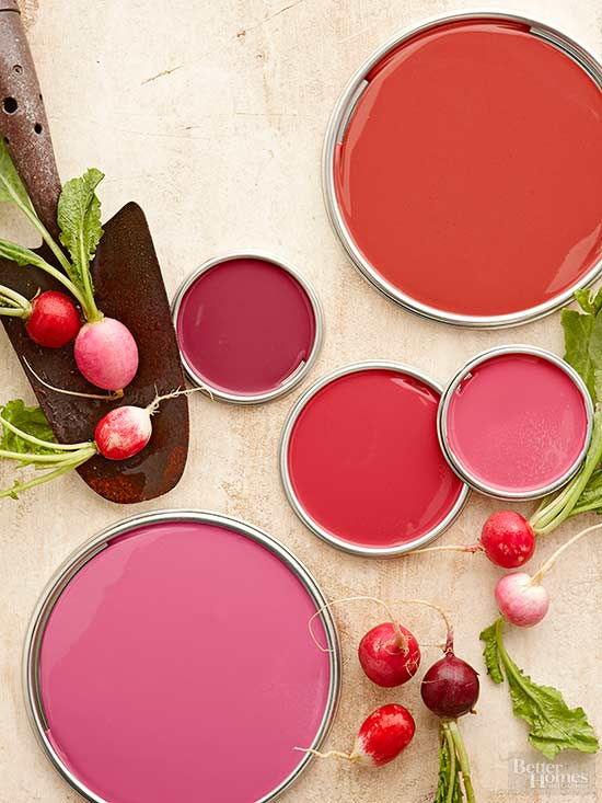 Red paint colors - Paint colors to make a room look brighter ...