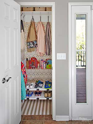 Gentil Double Closet Space With ONE Simple Swap