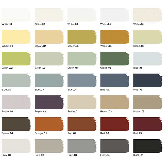 Why we 39 re loving crate barrel 39 s new paint line for Frazee paint swatches