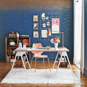 Beau Sophisticated Office Makeover On A Budget