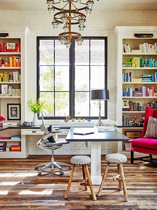 Small Home Office Layout Ideas Part - 50: Think In 3-D