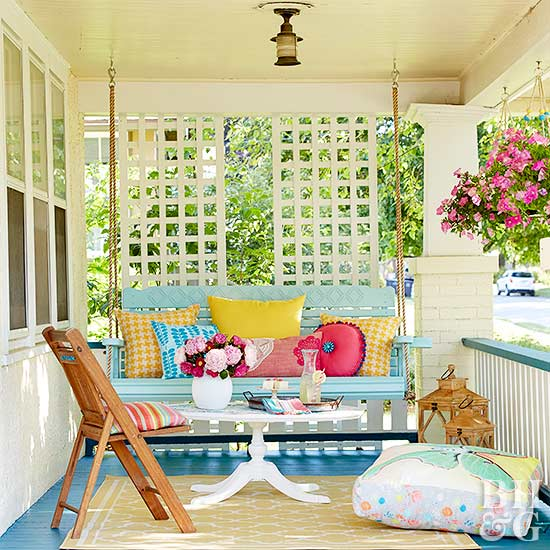 swing time - Porch Designs Ideas