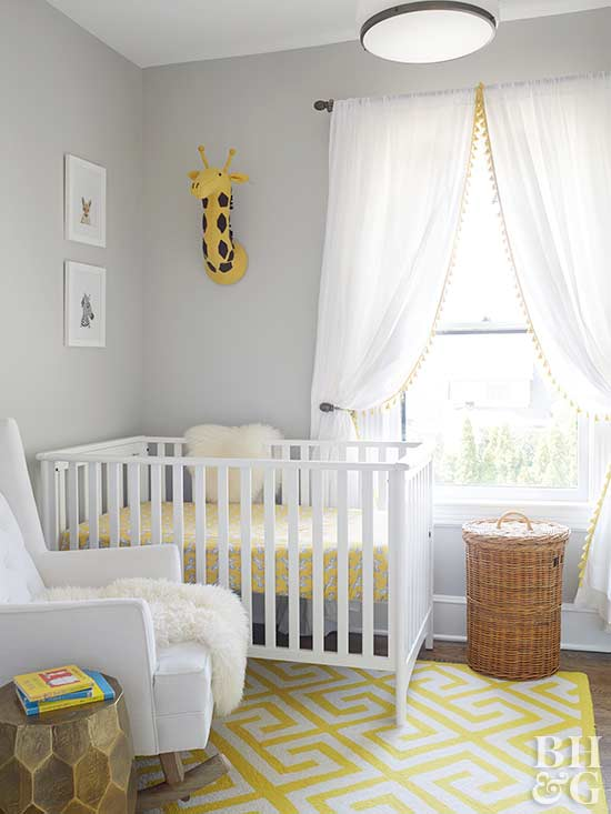 Baby nursery ideas for Baby girl crib decoration ideas