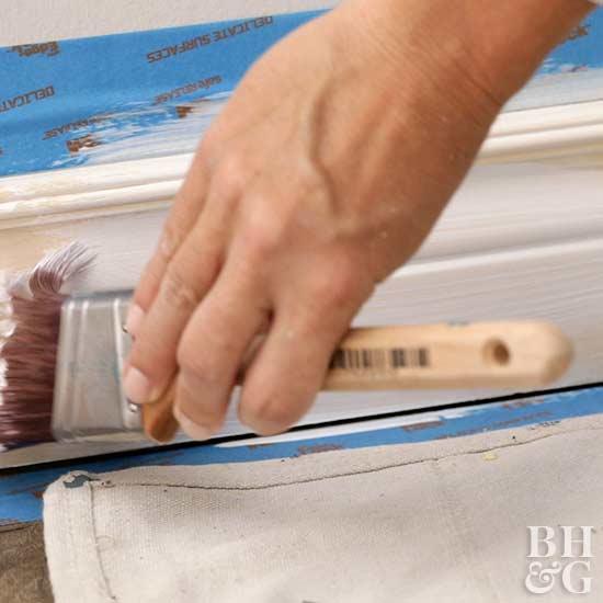 expert advice how to paint trim. Black Bedroom Furniture Sets. Home Design Ideas