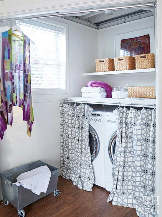Small laundry room ideas - Laundry room small space ideas paint ...
