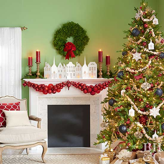 Decorate Your Mantel For Christmas