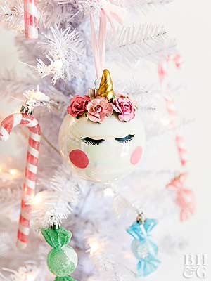 25 Ways To Dress Up Plain Christmas Ornaments