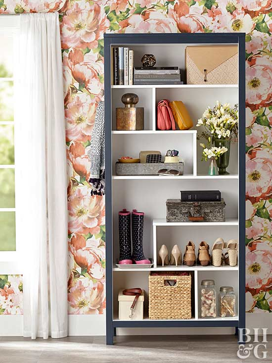 Holes Book Cover Ideas : Beautiful bookcase makeovers
