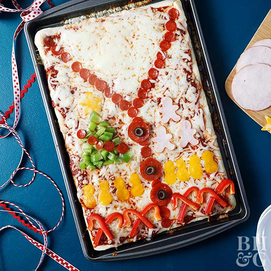 Ugly Sweater Pizza