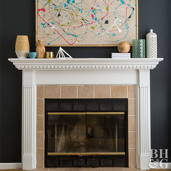 Build a DIY fireplace mantel for an inexpensive way to upgrade your living room. With our tips