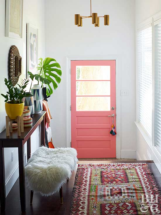 Front Entry Decor - Home Decorating Ideas