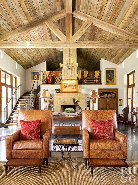 Living Room Ceiling Ideas