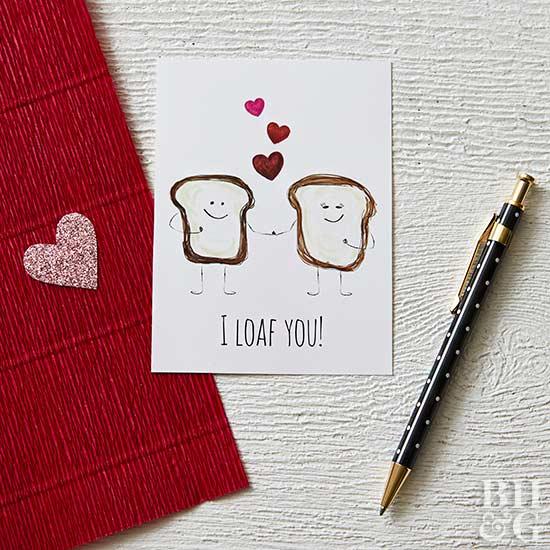 I Loaf You Valentine Printable