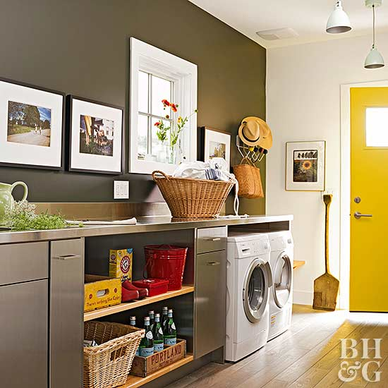 laundry room decor ideas stylish amp efficient laundry room ideas 29518