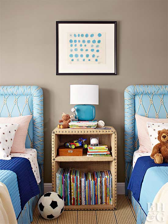 terrific kids bedroom ideas shared rooms | Shared Spaces: Bedrooms for Two Kids