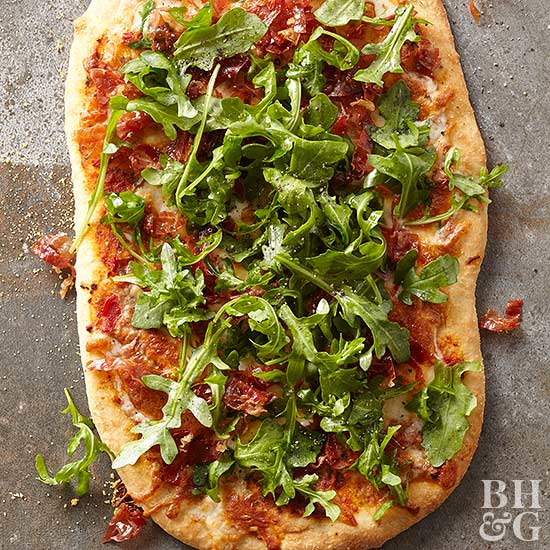 6 Dishes Health Nuts Order At Olive Garden: Pesto-Prosciutto Flatbread