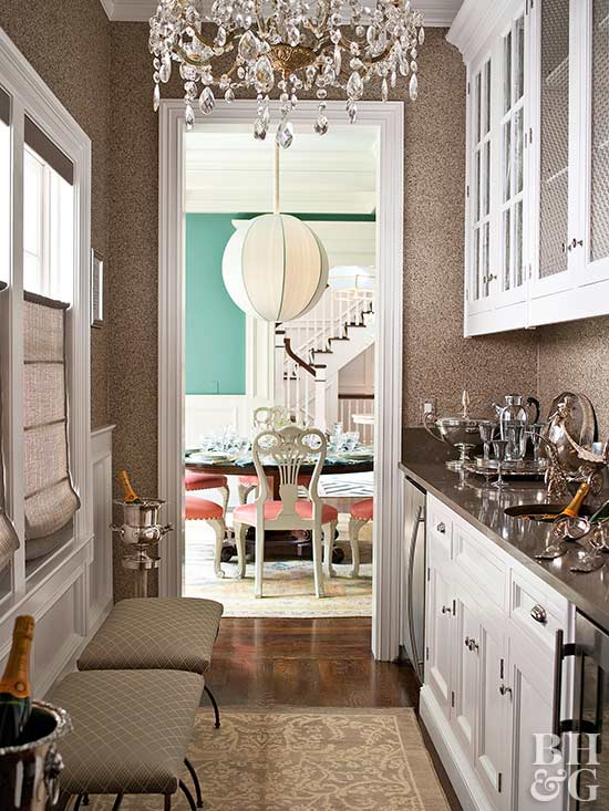 Plan the Perfect Butler's Pantry - Better Homes and