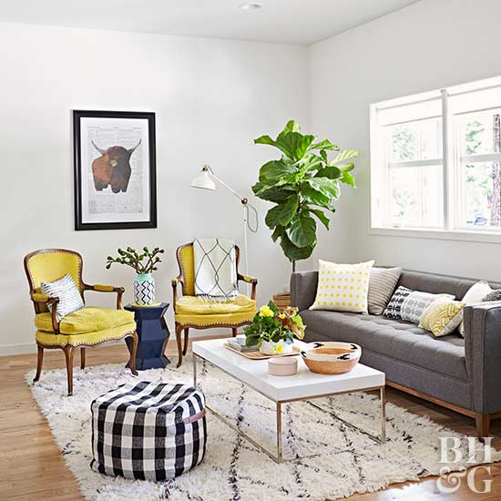 Here are the top 10 home influencers you should be following for Where should a rug be placed in a living room